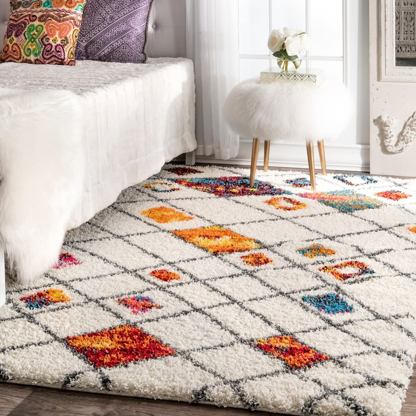 nuLOOM Margaretta Soft Plush Shag Area Rug