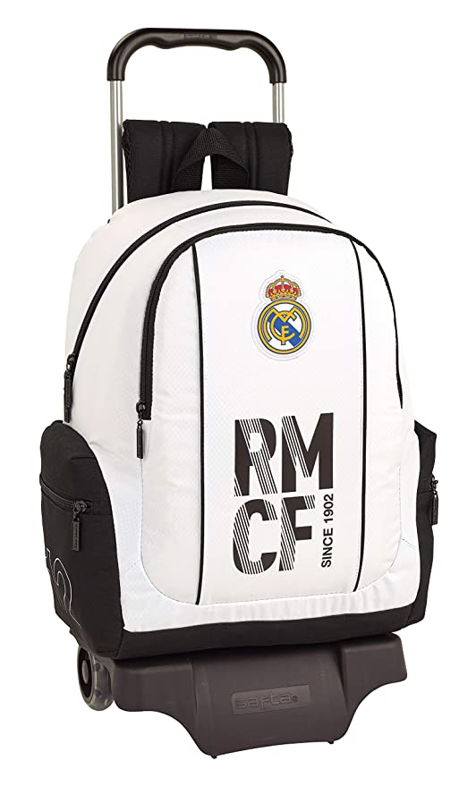 Real madrid cf Mochila Grande Ruedas, Carro, Trolley.