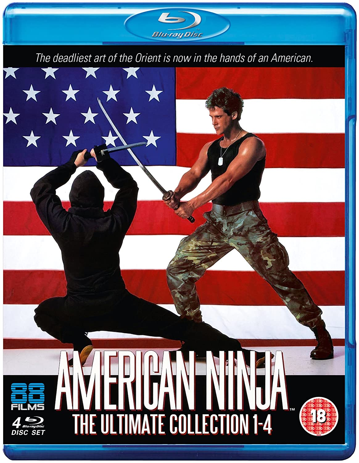 Amazon.com: American Ninja 1-4 Collectors Edition [Blu-ray ...
