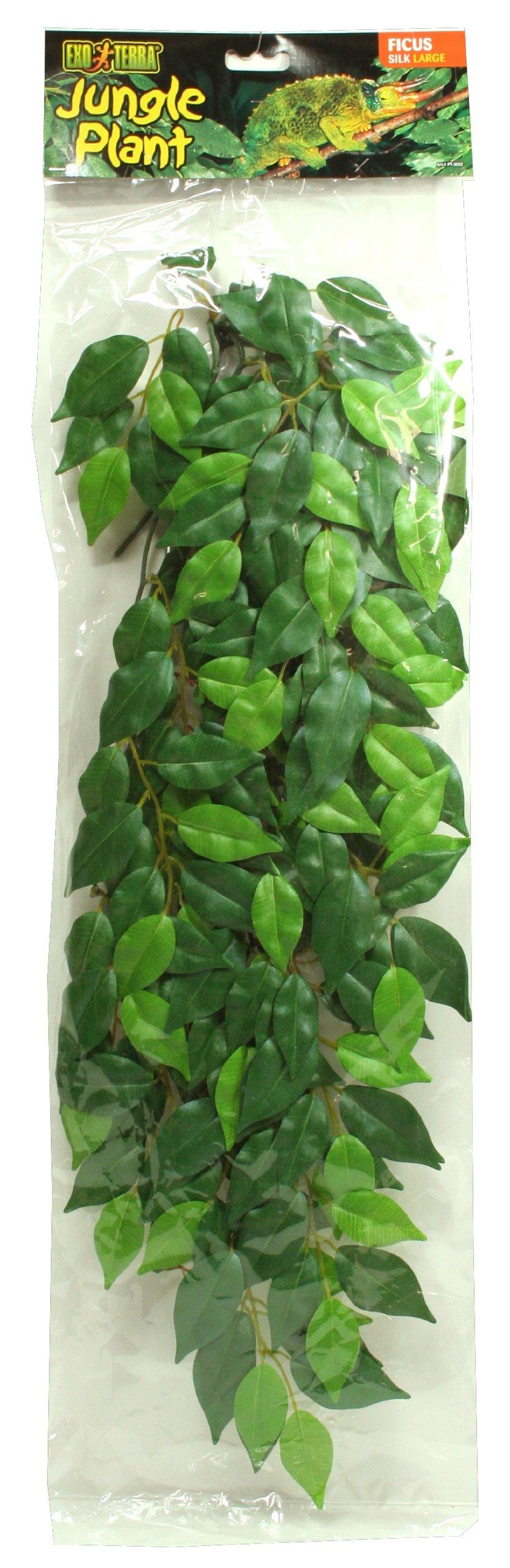 Exo Terra Silk Terrarium Plant, Large, Ficus 1