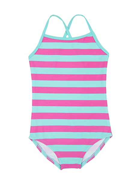 53721413679a Amazon.com  Leveret Kids Baby Girls One Piece Swimsuit UPF 50+ (Size ...