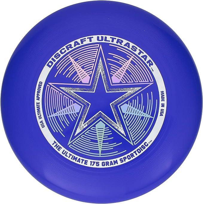 2 Pack Orange /& Blue Discraft 175 Gram Ultra Star Sport Disc