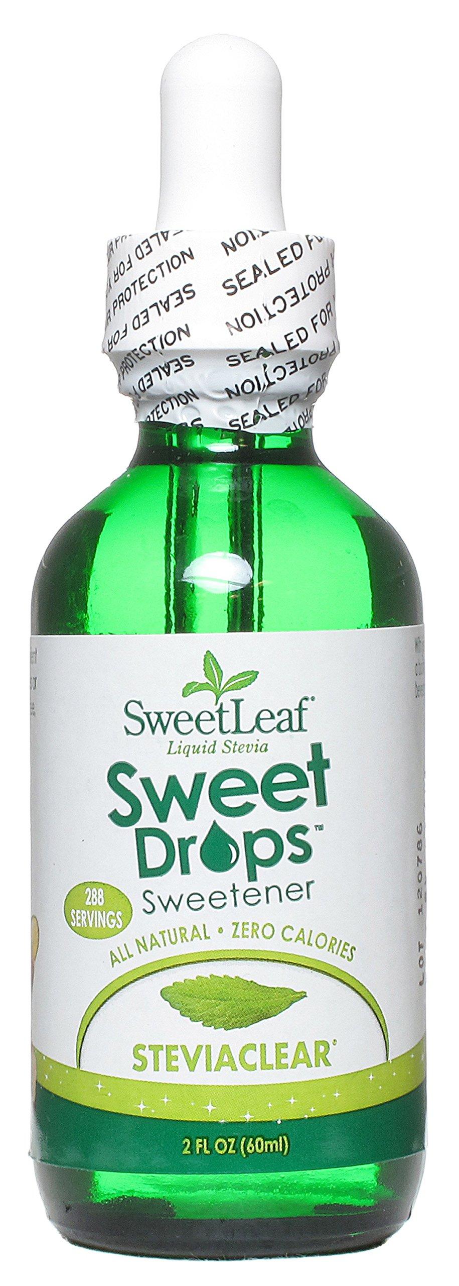 Sweetleaf Stevia Clear Liquid Stevia Clear 2 oz