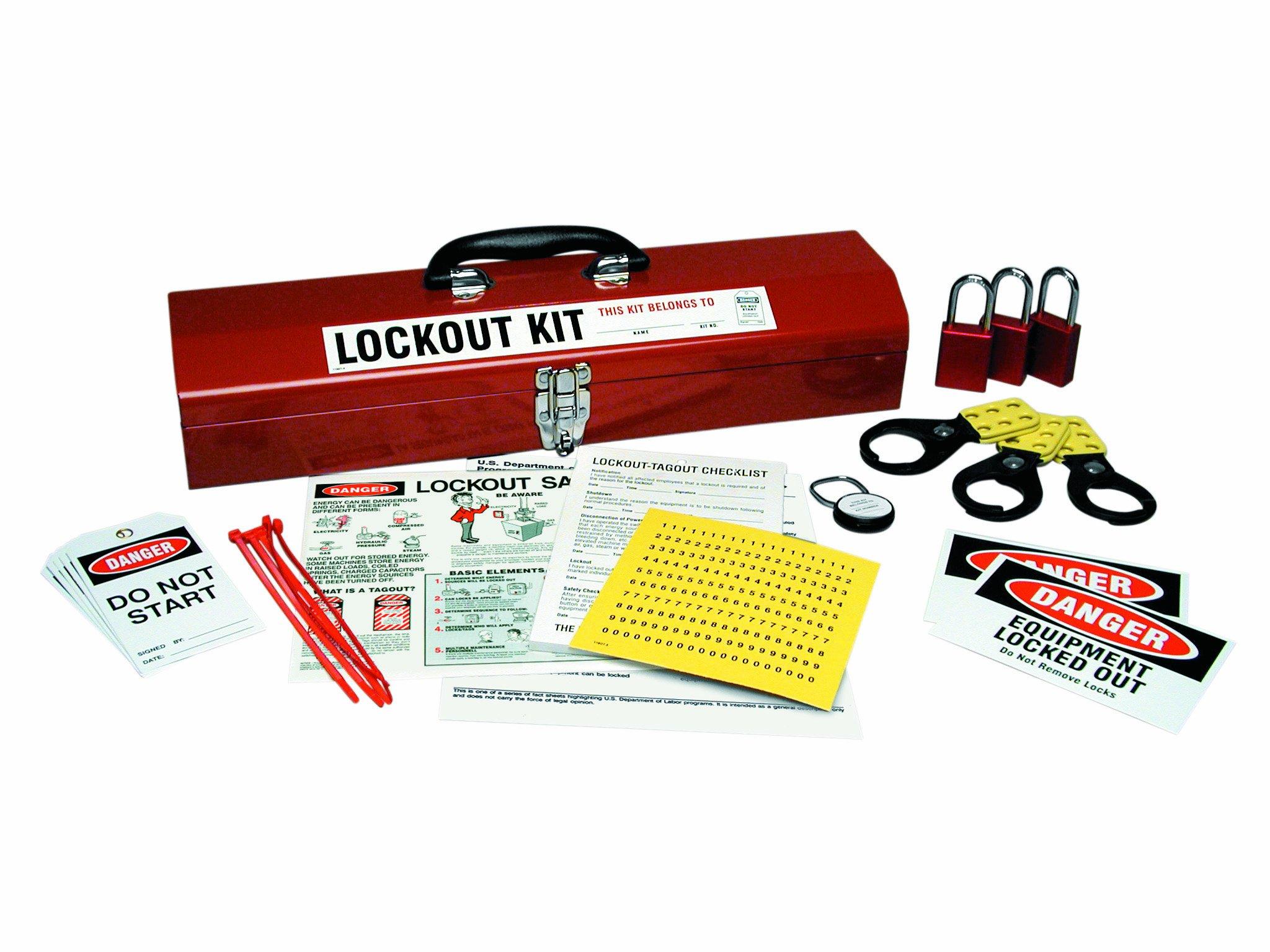 Brady LK907E Prinzing basic Lockout Kit Option #1 (1 Kit) by Brady