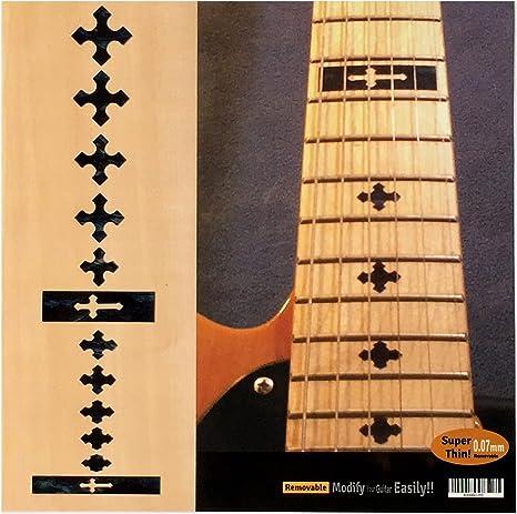 Pegatinas de incrustaciones para guitarra y bajo – Cross-BP ...