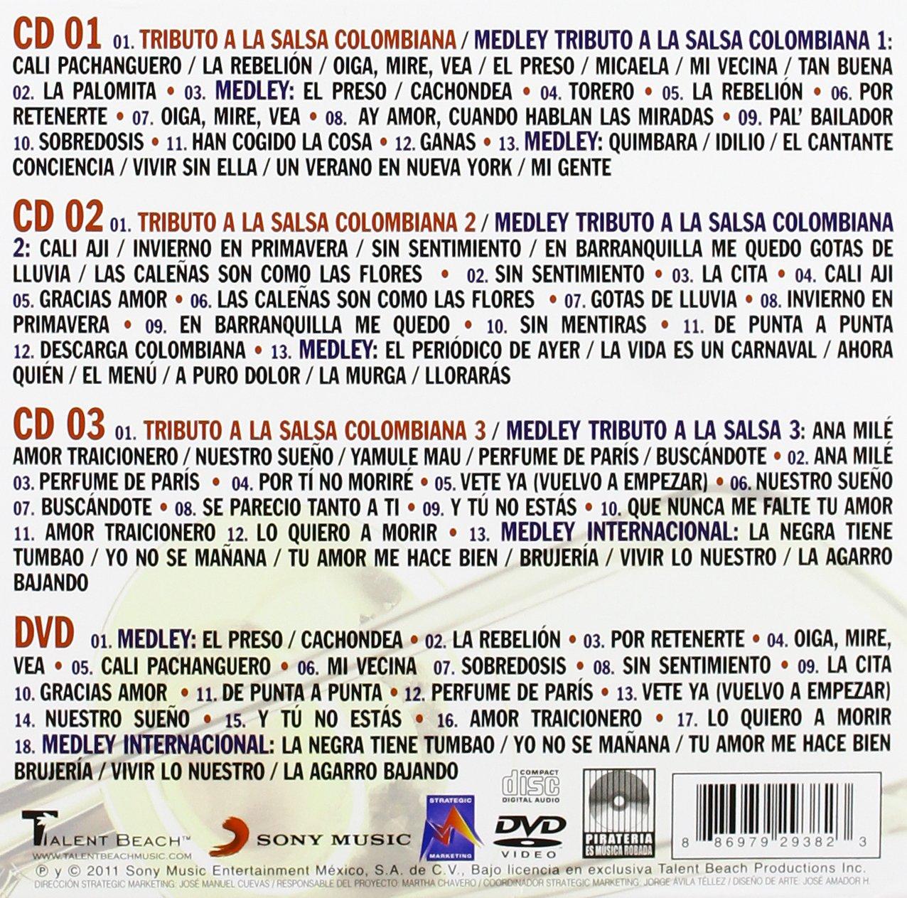 Esencial de Tributo a la Salsa Colombiana / Various