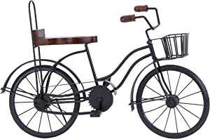 Deco 79 Metal Bicycle, 19 by 12-Inch
