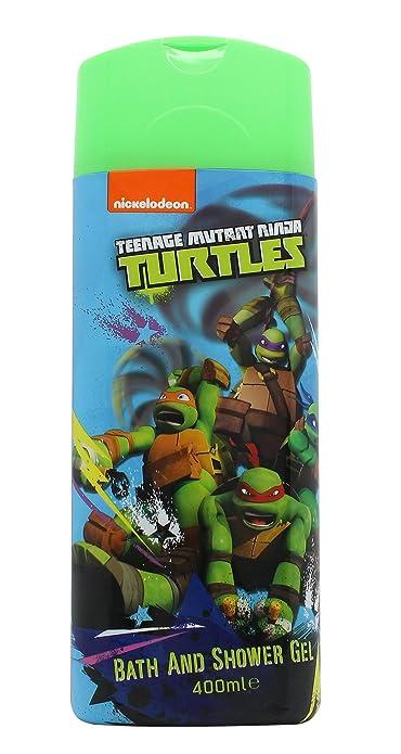 Ninja Turtles - K14000 - Gel de Baño Tortugas Ninja 400 ml 3 ...