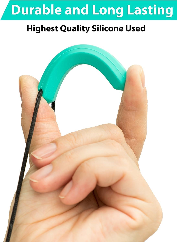 paquete de 3 Collares masticables Tilcare Chew Chew mordedor para beb/é Chupetero de silicona Las mejores herramientas para autismo y dentici/ón Colgante masticable para ni/ños y ni/ñas