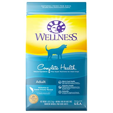 Wellness Complete Health Natural Dry Dog Food Whitefish Sweet