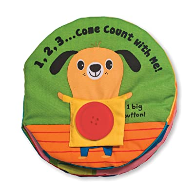 Melissa & Doug Soft Activity Baby Book - 123 Come Count With Me: Melissa & Doug: Toys & Games