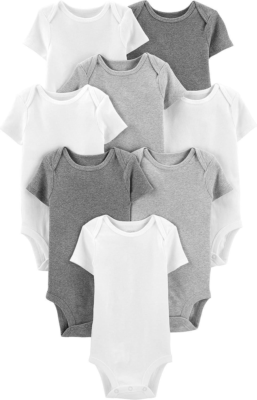 Simple Joys by Carter's Boys' 8-Pack Short-Sleeve Bodysuit