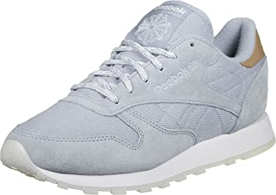 Reebok CL Leather Sea Worn W Schuhe gable greywhite: Amazon