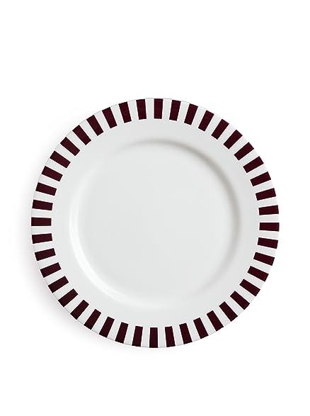 Missoni Home Richard Ginori Claret Dinner Plate (10-3/4 inch)  sc 1 st  Amazon.com & Amazon.com | Missoni Home Richard Ginori Claret Dinner Plate (10-3/4 ...