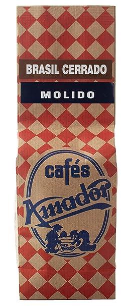 Cafés AMADOR - Café MOLIDO FINO Natural Arábica - BRASIL CERRADO ...