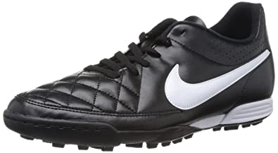 new concept 35731 7c39b Nike Tiempo Rio Ii Tf, Chaussures de football homme, Noir (Black White
