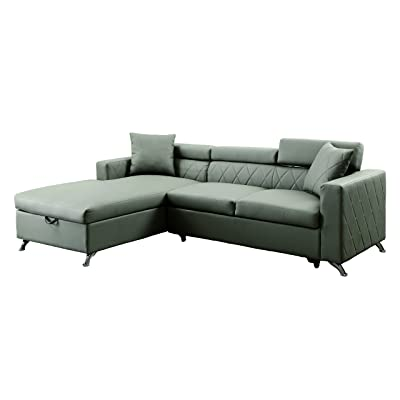 HOMES: Inside + Out IDF-6292-SEC Steels Sleeper Sectional