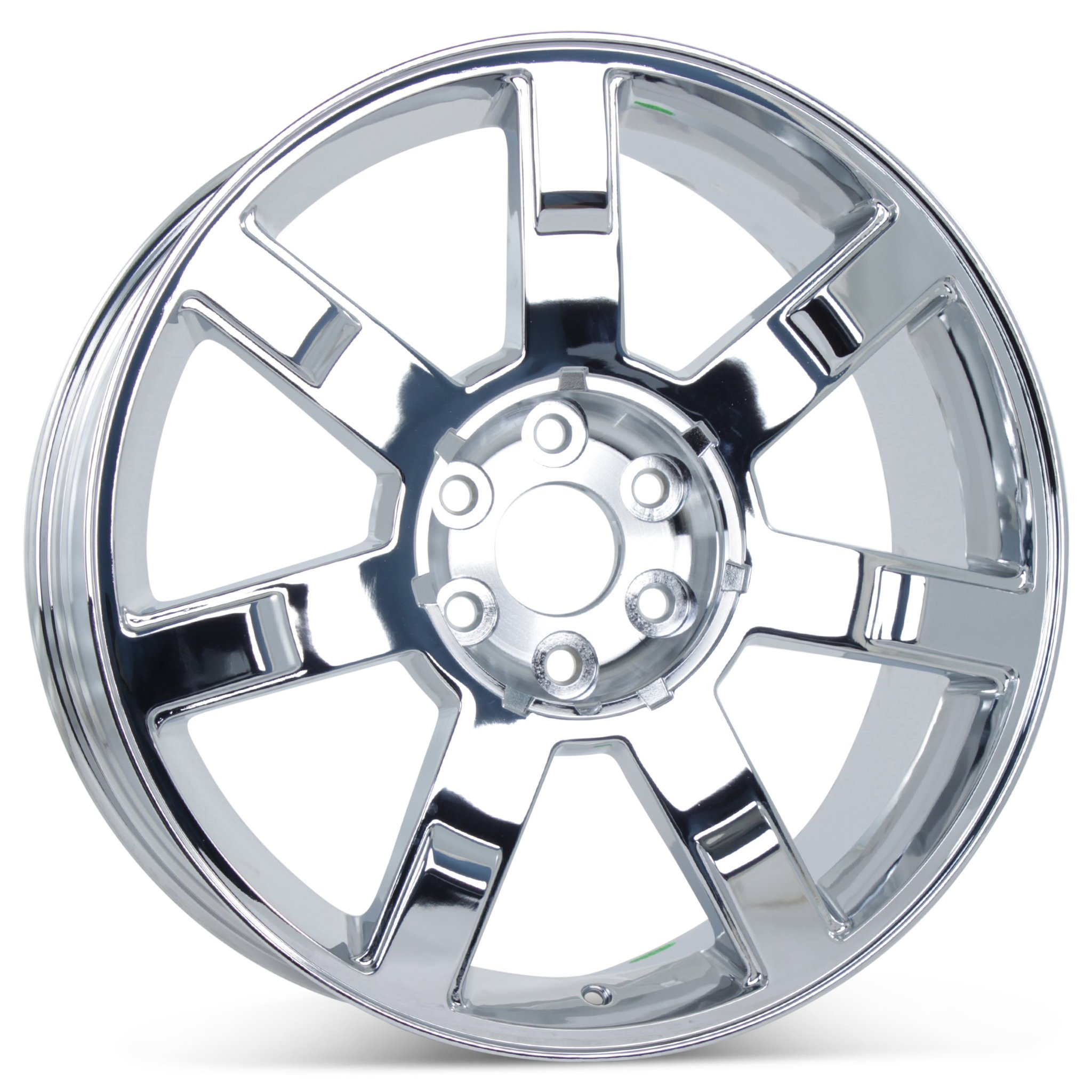 New 22'' x 9'' Replacement Wheel for Cadillac Escalade 2007-2013 Rim Chrome 5309 by Cadillac (Image #1)