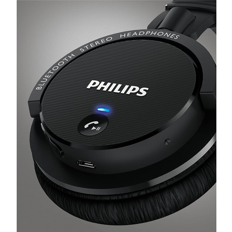 philips shb5500bk 27 wireless bluetooth headphones