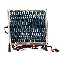 12-Volt Solar Panel Charger for 12V 8Ah Big Game Feeder Battery