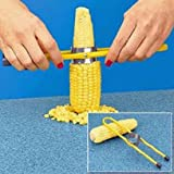 Toyofmine Corn Cutter Kernal Stripper for Corn on The Cob Stainless Steel Teeth New