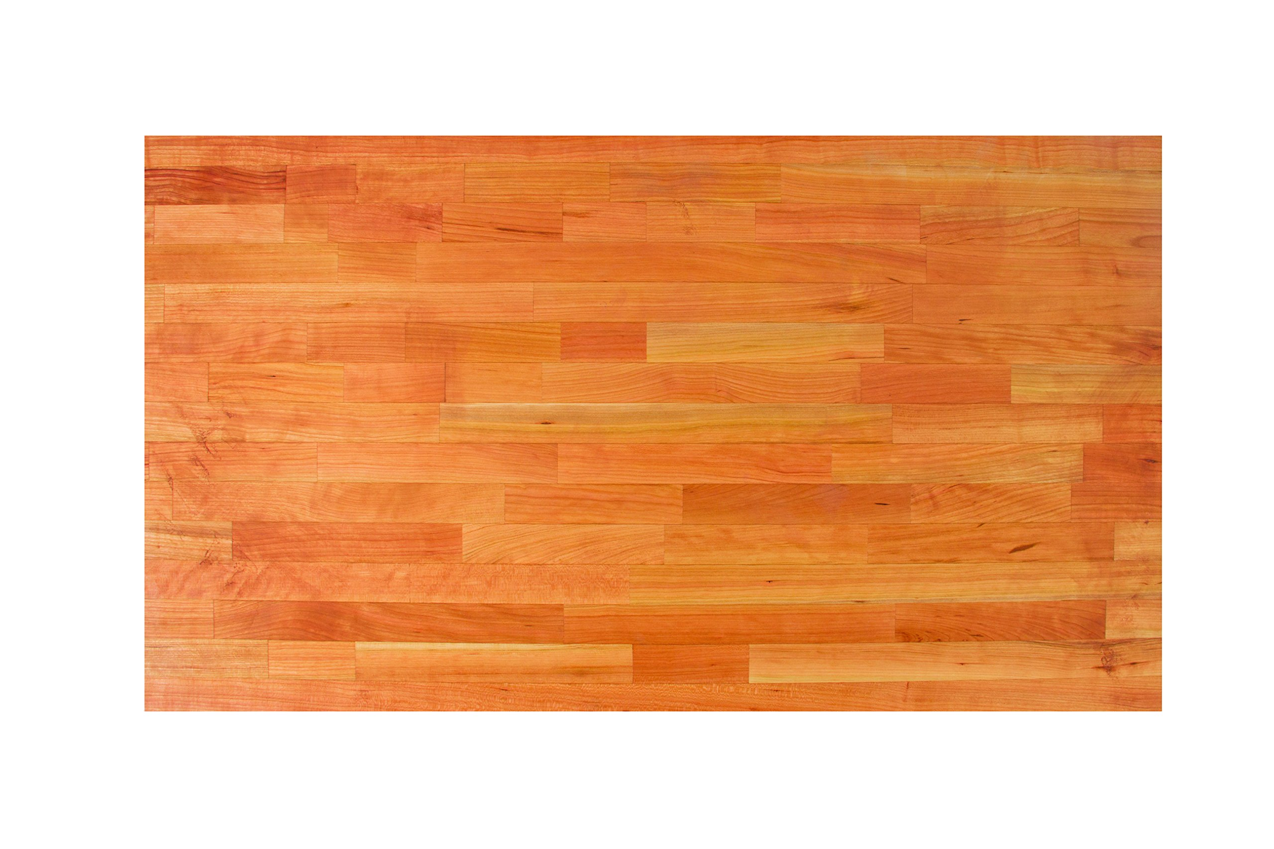 John Boos CHYKCT1225-O Cherry Kitchen Counter Top with Oil Finish, 1.5'' Thickness, 12'' x 25'' by John Boos (Image #2)