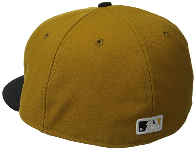 Amazon.com  New Era 59FIFTY Pittsburgh Pirates Team Alternate 2 Baseball Hat  Gold Black  Sports   Outdoors 0ebfc7ca6e68