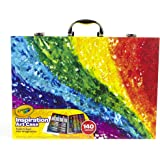 Crayola 绘儿乐 创意展现艺术珍藏礼盒 儿童绘画工具箱 140件装(版本随机发货) 海外卖家直邮