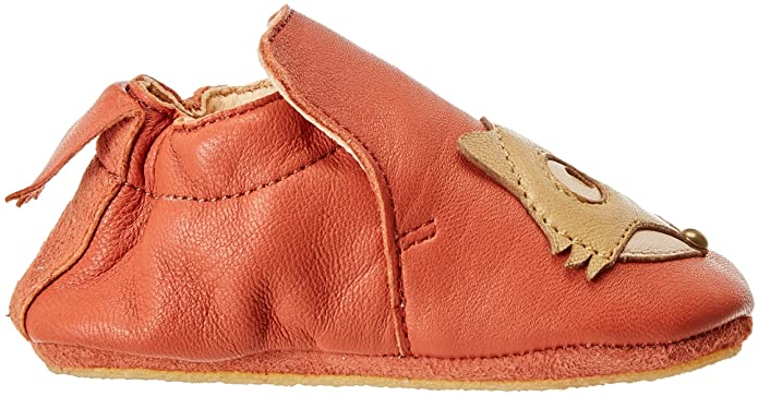 Easy Peasy Blublu Fox, Zapatillas de Estar por Casa para Bebés, Marrón (Chataigne 069), 25 EU