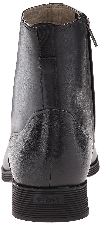 Amazon.com | CLARKS Men's Gabwell Zip Boot, Black Leather, 13 M US | Chelsea