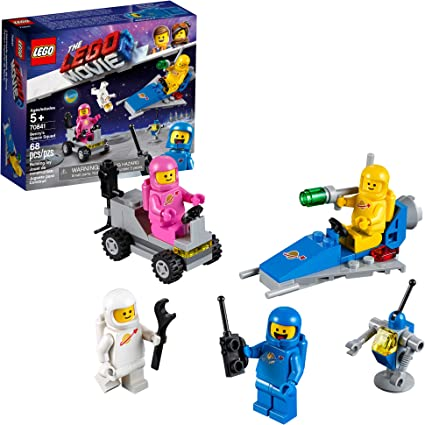 LEGO Movie 2 Pink Classic Spaceman Lenny Minifigure Split from 70841 Set