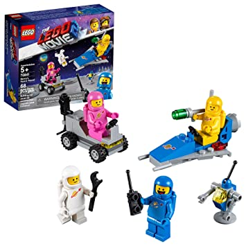 LEGO THE LEGO MOVIE 2 Benny's Space Squad 70841 Building Kit, Kids Playset  with Space Toys and Astronaut Figures, New 2019 (68 Pieces)