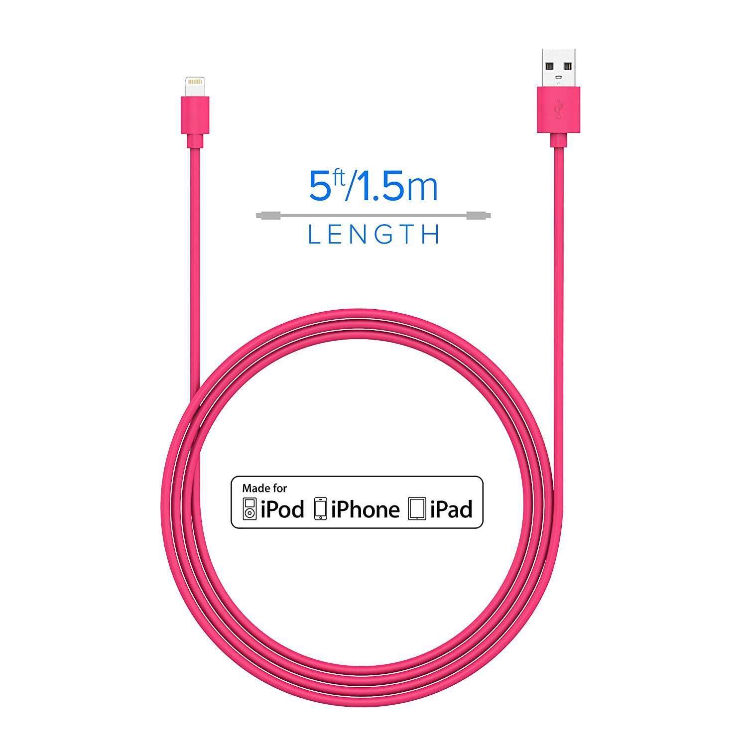 Fifo Iphone 4 Charger Wire Schematics Electrical Wiring Diagrams Apple Usb Power Cord Diagram Amazon Com Just Wireless Lightning To Cable 5ft Charge And Circuit