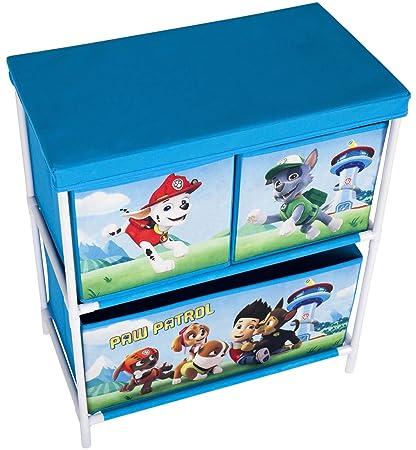 Unidad de almacenamiento Paw Patrol para los juguetes de los niños ...