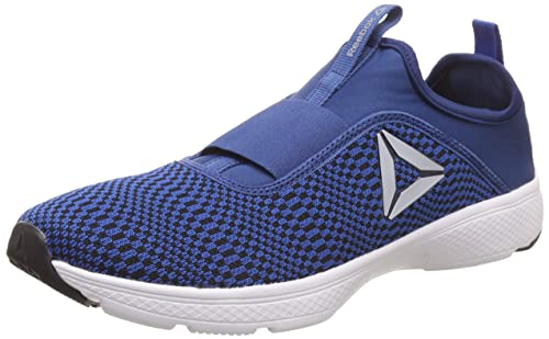 Reebok Men s One Rush Slip On Lp Bunker Awesome Blue Running Shoes-10 UK  aede2a86a