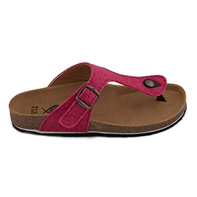 e52ca456a19 nae Kos PET Pink - Women s Vegan Sandals  Amazon.co.uk  Shoes   Bags