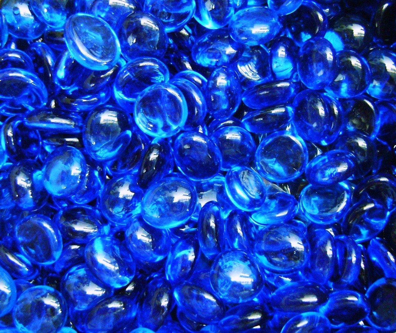 Amazon creative stuff glass 1 lb aqua blue glass gems amazon creative stuff glass 1 lb aqua blue glass gems vase fillers 12 14mm approx 12 pet supplies reviewsmspy