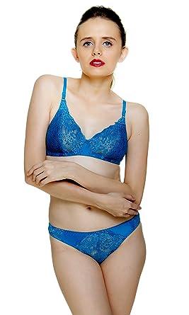 bcdda0065e Fashion Comfortz Women s Girls Lace Katty Lycra Spandex (4WAY) Bikini Set  for womenWomens Girls