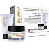 SeroVital Day and Night Total Facial Rejuvenation System- Cream Ready to Visibly Lift
