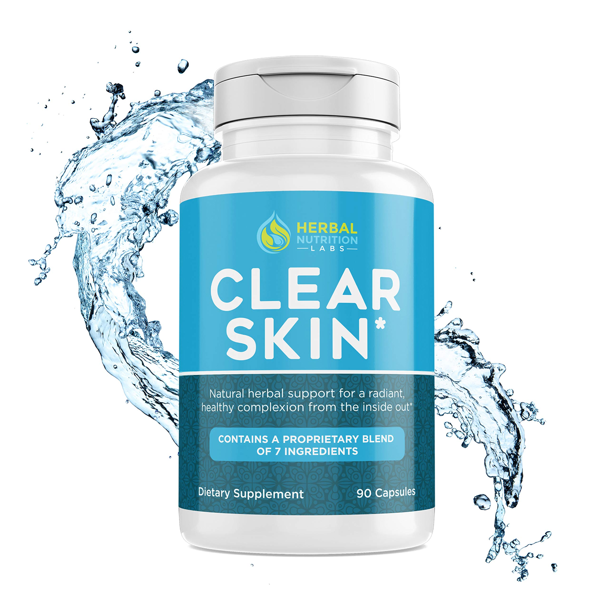 Cystic Acne Supplement for Women   Quickly Drys Up Painful Hormonal Acne On Your Face and Chin   All Natural   No Side Effects   Made USA