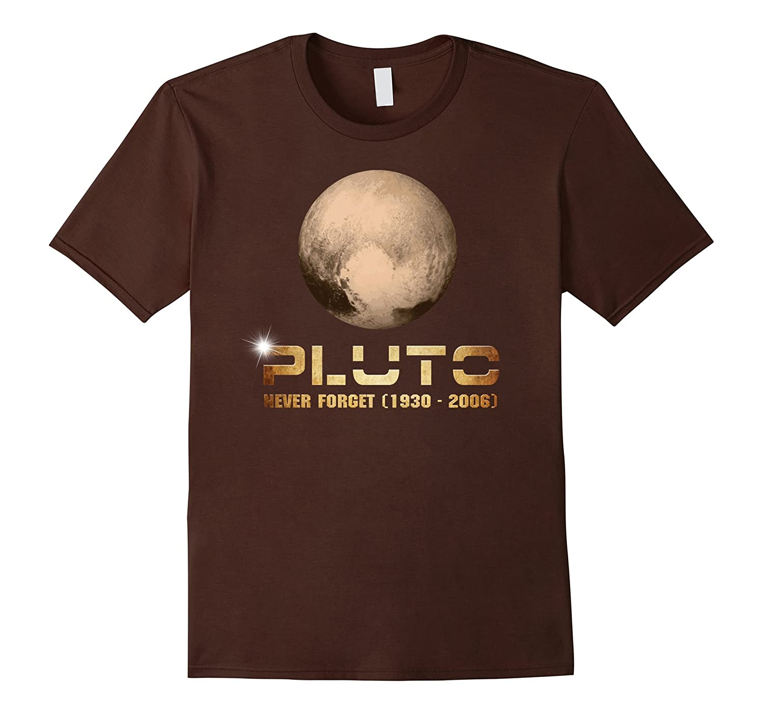 PREMIUM Pluto Never Forget 1930 - 2006 Funny Science T-Shirt-RT