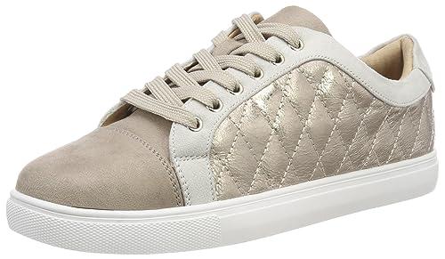 Vanessa Wu Emma, Zapatillas para Mujer, Beige (Taupe 05), 38 EU: Amazon.es: Zapatos y complementos