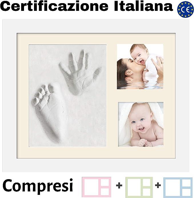 27 opinioni per Kit Impronta Neonato Manina E Piedino | 4 Colori Compresi | Argilla Certificata