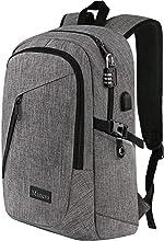 Mancro Laptop Backpack, Business Water Resistant Laptops Backpack Gift for Men