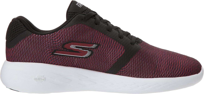Skechers Men's Go Run 600-55068 Sneaker Black/Red