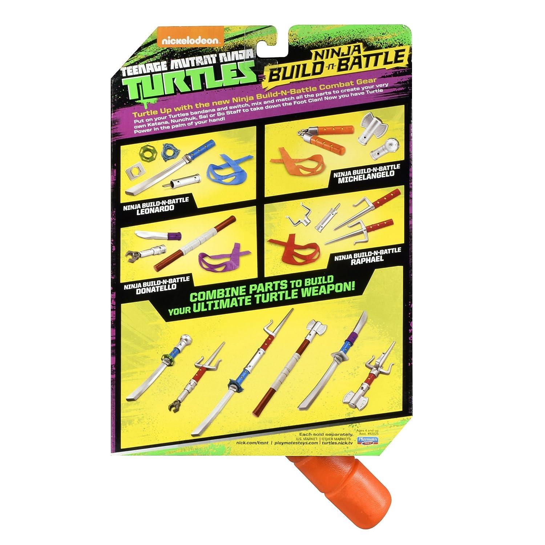 Amazon Teenage Mutant Ninja Turtles Build N Battle Michelangelo