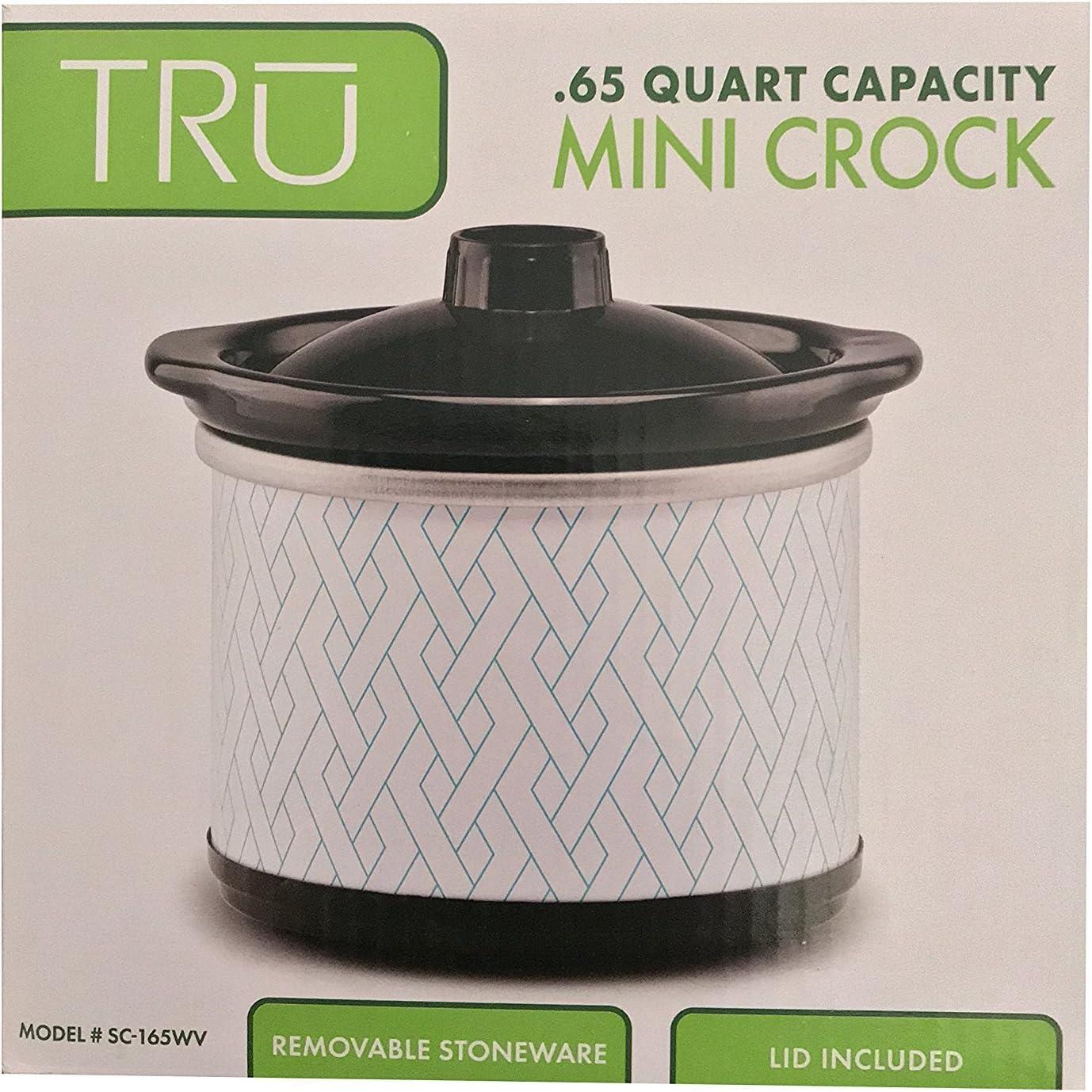 Renewed TRU Tru Stainless Steel Mini Crock .65-qt.