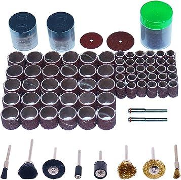 levigatura 347 pezzi Set di accessori per intaglio per affilatura di lucidatura con mola rotante con gambo Kit di accessori per utensili rotanti Set di utensili rotanti per levigatura lucidatura