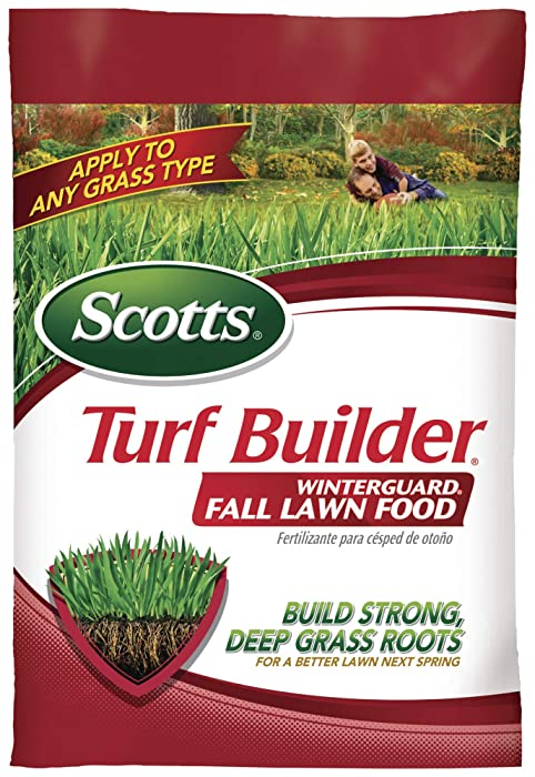 Top 9 Scotts Fall Lawn Food