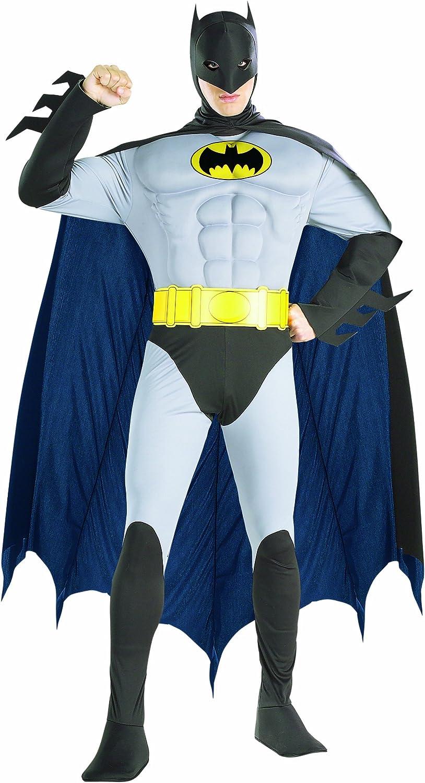 Rubies s Oficial de Batman Deluxe Adulto Disfraz con Músculos en ...